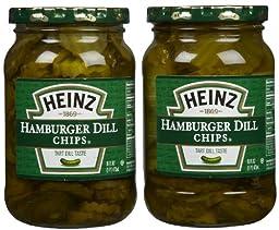 Heinz Hamburger Dill Slices, 16 oz, 2 pk