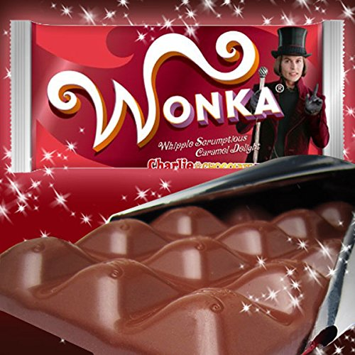 WONKA ウォンカチョコレート キャラメル (発売10周年目リニューアル) チャーリーとチョコレート工場