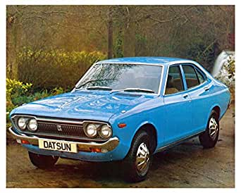 1975 Datsun 140J 160J SSS Automobile Photo Poster at