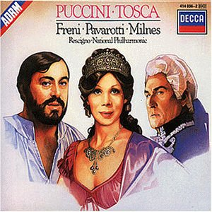 "Cover of ""Puccini: Tosca / Freni, Pavarot..."