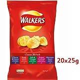 Walkers Variety Crisps 20 Pack 600g