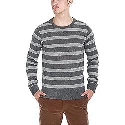 Zobello Men's Sweatshirt (21000B_Charcoal_XX-Large)