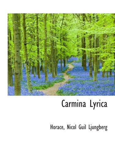Carmina Lyrica