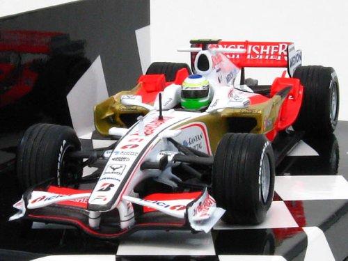 【MINICHAMPS/ミニチャンプス】1/43 フォースインディア F1チーム VJM01 G.フィジケラ