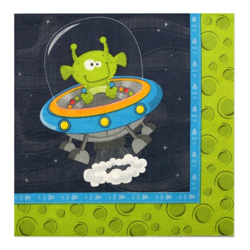 Space Alien Luncheon Napkins (16 count)
