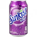Sunkist Grape 12 OZ (355ml)