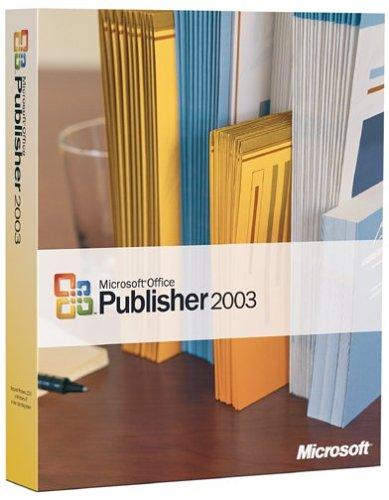 Microsoft Publisher 2003 OLD VERSIONB0000BZYCA