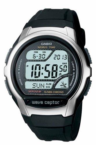 Casio Men's+Waveceptor Atomic+Digital Watch #WV58A-1AV