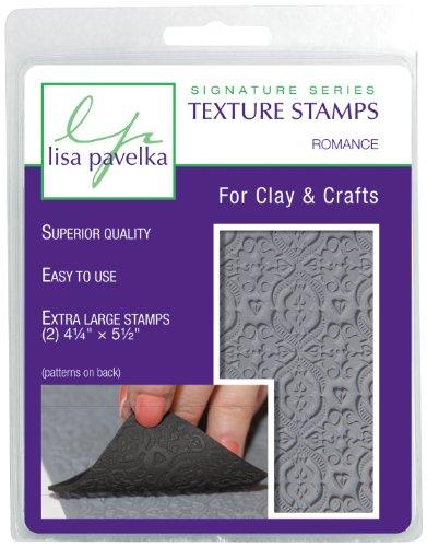 Lisa Pavelka 327020 Texture Stamp Kit Romance