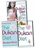 Dr Pierre Dukan Dr Pierre Dukan Diet Collection 3 Books Set Pack RRP: £42.97 (The Dukan Diet, The Dukan Diet Recipe Book, Dukan Diet Life Plan (hardback)))