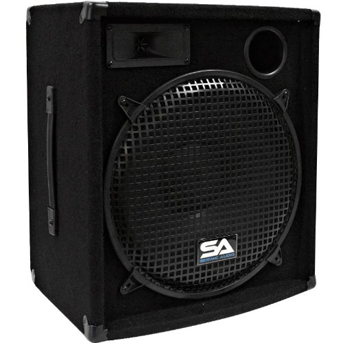 Seismic Audio - 15 Inch Pa Dj Speaker 300 Watts Pro Audio - Mains, Monitors, Bands, Karaoke, Churches, Weddings