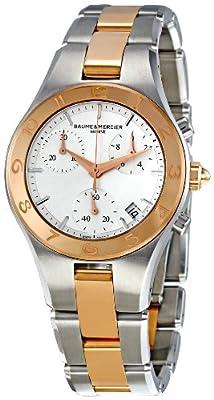 Baume & Mercier Women's MOA10016 Linea Silver Dial Watch