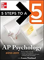 5 Steps to a 5 AP Psychology, -