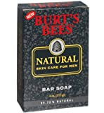 Burt's Bees Natural Skin Care for Men Bar Soap (110g)