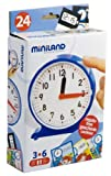 Miniland Clock with Activity Cards