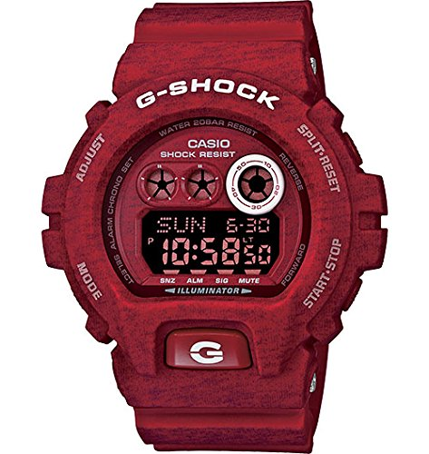 Casio GDX6900HT-4  G-Shock Red-Tone Digital Dial Resin Quartz Men's Watch (Casio Red Dial Watch compare prices)