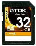 TDK SDHCカード 32GB Class10 (5年保証) T-SDHC32GB10-A
