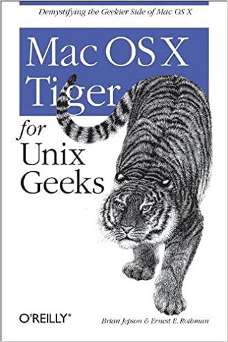 Mac OS X Tiger for Unix Geeks