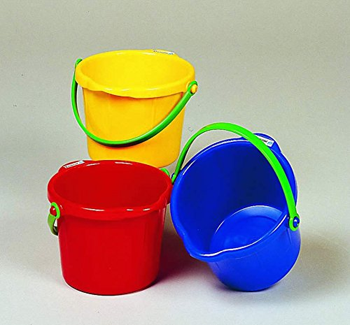 Small Sand Pail 1.5 Liter - by Spielstabil, ( colors may vary )