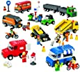 LEGO Education Vehicles Set Trucks Motorcycles & Cars 4579789 (934 Pieces)