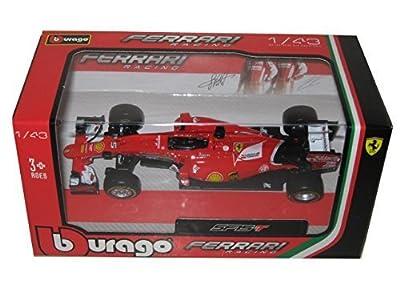2015 Ferrari Formula 1 SF15-T Kimi Raikonnen and Sebastian Vettel 1/43 by Bburago 36810-15