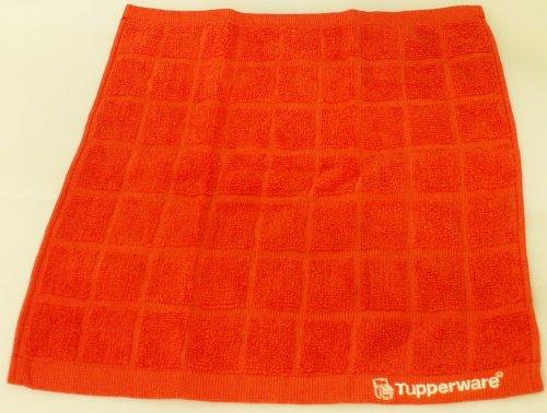 Tupperware FaserPro Mikrofaser Küchentuch rot