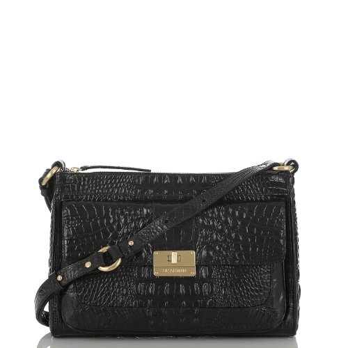 Rosie Shoulder Bag<br>Black Melbourne