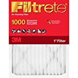 Filtrete Allergen Defense Filter, 20-Inch by 24-Inch by 1-Inch, 4-Pack