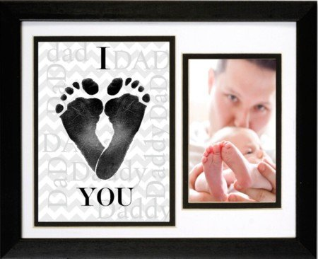 Daddy I Love You Keepsake Baby Footprint Frame
