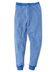 Soft & Cosy Striped Thermal Long Pants