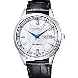 Collection Mechanical pair watch White CITIZEN NY4050-03A Automatic volume Men's