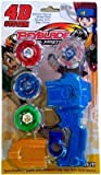 #8: Uniek Deals Beyblade With Metal Fury 4D System Beyblade Spinning Toy(Color May Vary)