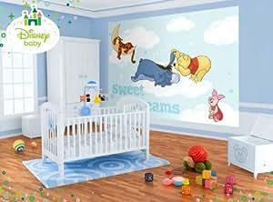 wallpaper mural 39 39 winnie the pooh 39 39 photo wallpaper kids. Black Bedroom Furniture Sets. Home Design Ideas