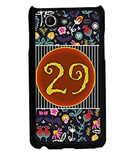 PrintVisa Metal Printed Numeric Designer Back Case Cover for Samsung Galaxy S Advance I9224-D4780