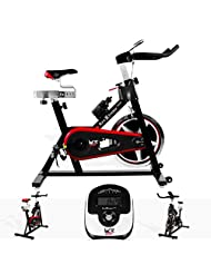 We R Sports Aerobic Training Cycle Exercise Bike Fitness Cardio Workout Home Cycling Racing Machine - Black by We R Sports
