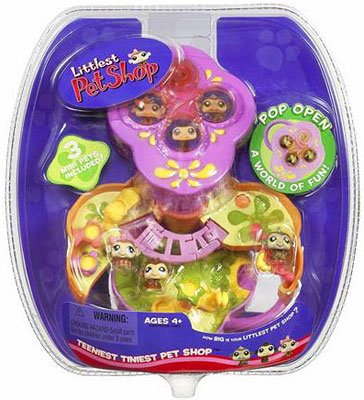 Buy Littlest Pet Shop Teeniest Tiniest Pet Shop – Monkey Playground