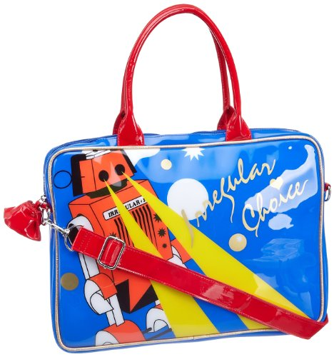 Irregular Choice Robot Laptop Bag
