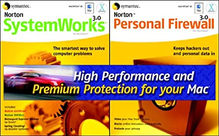 Norton SystemWorks 3.0 and Norton Personal Firewall 3.0 (Mac)
