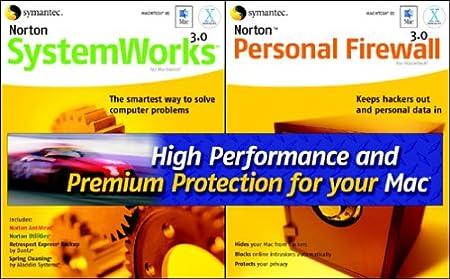 Norton SystemWorks 3.0 and Norton Personal Firewall 3.0 (Mac)