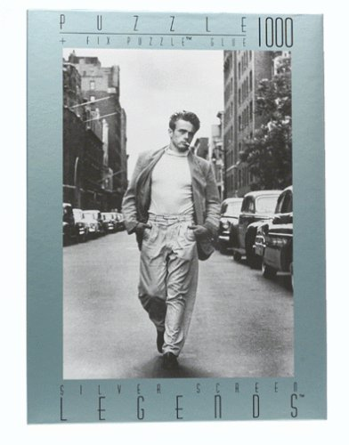 Cheap Fink & Company Silver Screen Legends: James Dean-New York – 1000-pc Jigsaw Puzzle (B00000ISIB)