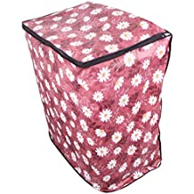 Dream Care Floral Brown Coloured Waterproof & Dustproof Washing Machine Cover For All Semi Automatic BPL Machines