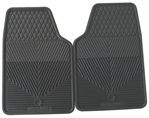 Highland 4502500 All-Weather Gray Front Seat Floor Mat front-848779