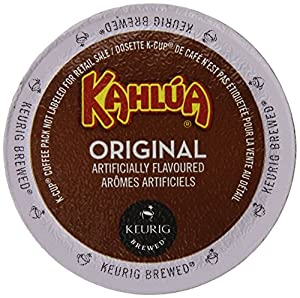 Kahlua Original, K-Cup Portion Pack for Keurig K-Cup Brewers 24-Count  (Pack of 2)