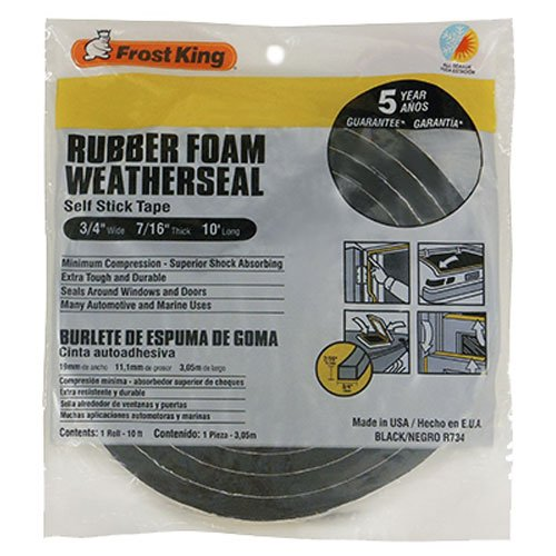 frost-king-r734h-sponge-rubber-foam-tape-3-4-w-x-7-16-h-x-10-l-black