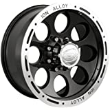 "Ion Alloy 174 Black Beadlock Wheel (17x9""/6x139.7mm)"