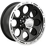 "Ion Alloy 174 Black Beadlock Wheel (16x8""/8x170mm)"