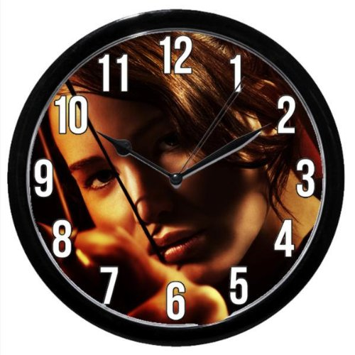 Hunger Games Logo Clock Movie Book Series