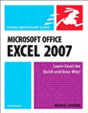 img - for Microsoft Office Excel 2007 for Windows: Visual QuickStart Guide book / textbook / text book