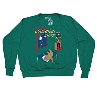 Goodnight Sloth Pullover Goodnight Moon Shirt Longsleeves Funny Shirts