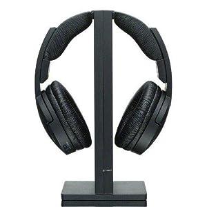 Sony MDR-RF985RK Wireless RF Radio Frequency Cordless Headphone - Black